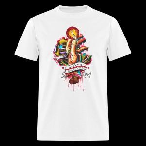 piercing hand - Men's T-Shirt