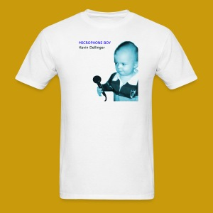 Kevin Dellinger - Microphone Boy - Men's T-Shirt