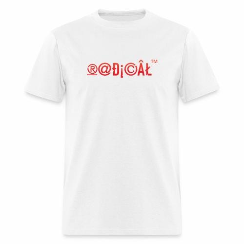 Radical Glyphs - Men's T-Shirt