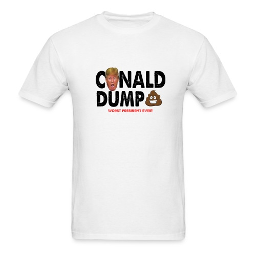Conald Dump Worst President Ever - Men's T-Shirt