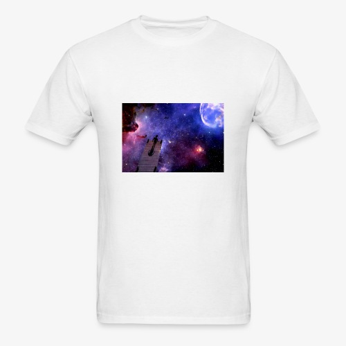 About to jump - Men's T-Shirt