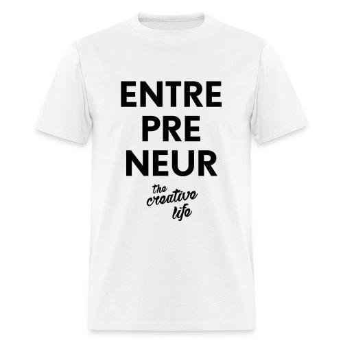 The Entrepreneur Tee White - Men's T-Shirt