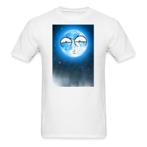 BLUE MOON UP - Men's T-Shirt