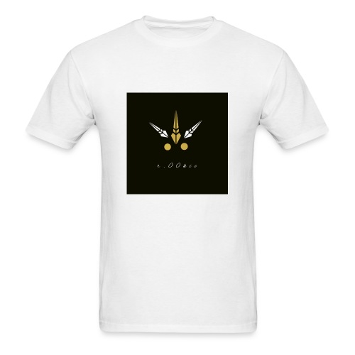 r.00kie logo - Men's T-Shirt