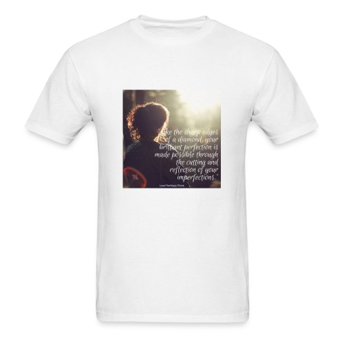 perfection-imperfections - Men's T-Shirt