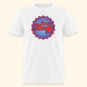 Beer Rings - Men's T-Shirt