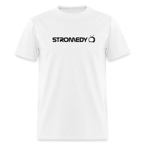 White Stromedy T-Shirt - Men's T-Shirt