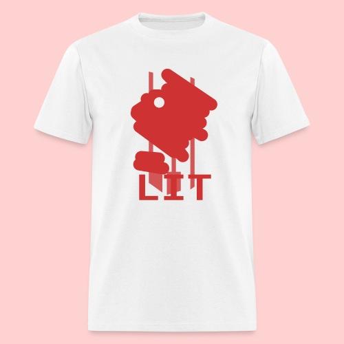 The Lit Face - Men's T-Shirt