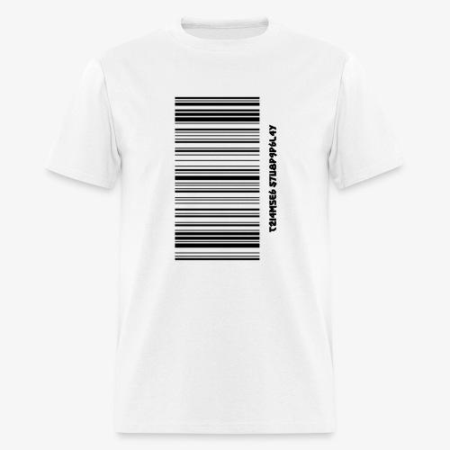 Time Supply - Barcode T-Shirt - Men's T-Shirt