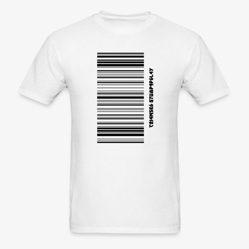 Time Supply - Barcode T-Shirt - Men's T-Shirt
