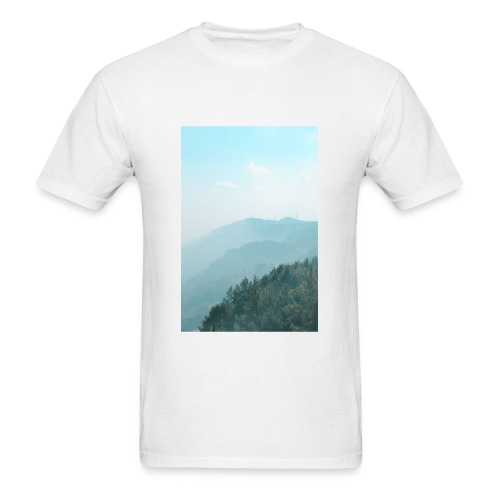 Hilly Stack - Men's T-Shirt