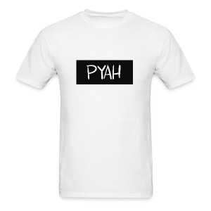 PYAH Box Logo - Men's T-Shirt