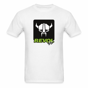 RevolRC Viking White on Black - Men's T-Shirt