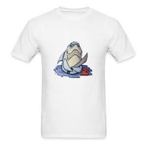 shark attack - Men's T-Shirt