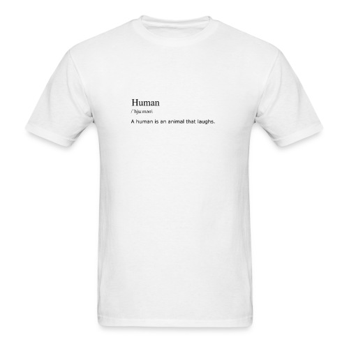Human, By Definition - Men's T-Shirt