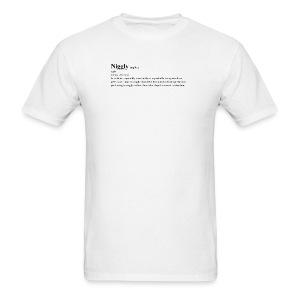 niggly definition tee - Men's T-Shirt