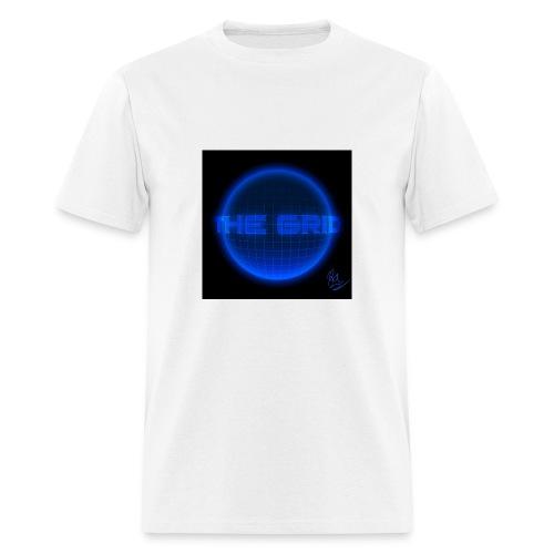 gridline the grid nerd statistics - Men's T-Shirt