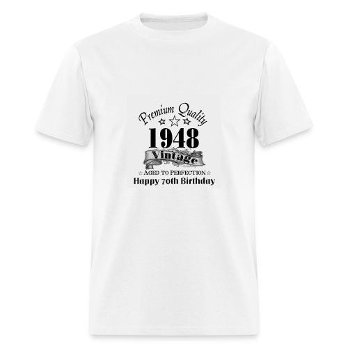 70th Bday - Men's T-Shirt