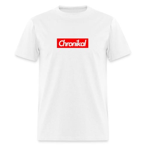 Chronikal Box Logo - Men's T-Shirt