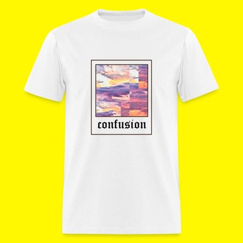 polaroid confusion sunset - Men's T-Shirt