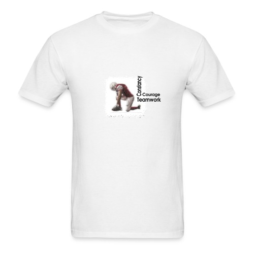 player constancy courage teamwork - Men's T-Shirt