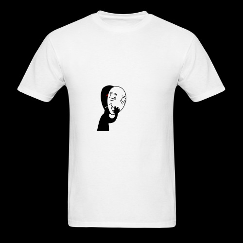 The mask of hiding emotions - Men's T-Shirt