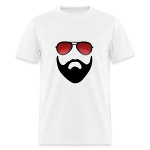Beard and shades - Men's T-Shirt