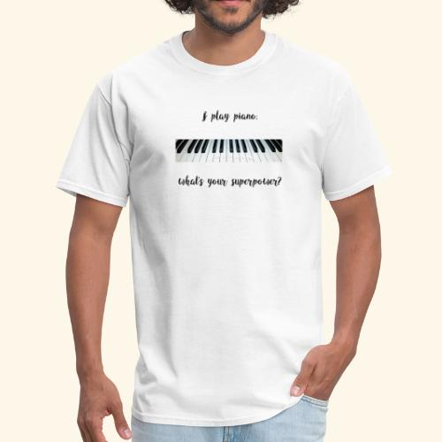 piano superpower - Men's T-Shirt