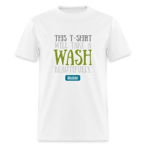 This T-Shirt Will Take A Wash Beautifully. - Men's T-Shirt