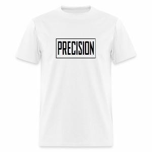 precision logo1 5 - Men's T-Shirt