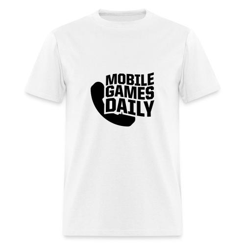 MGDLogo black - Men's T-Shirt