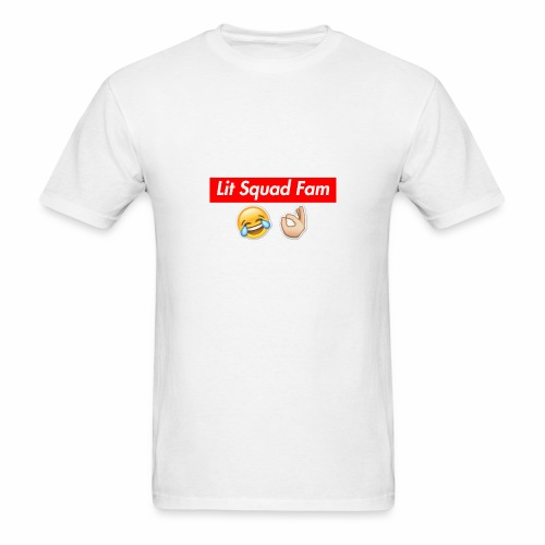 Lit Squad Fam - Men's T-Shirt