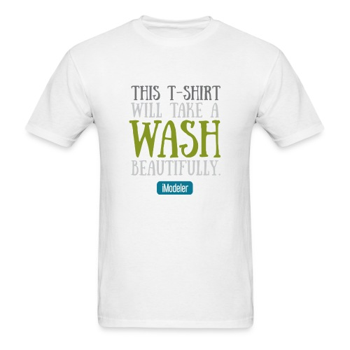 This T-Shirt Will Take A Wash Beautifully. - Men's T-Shirt