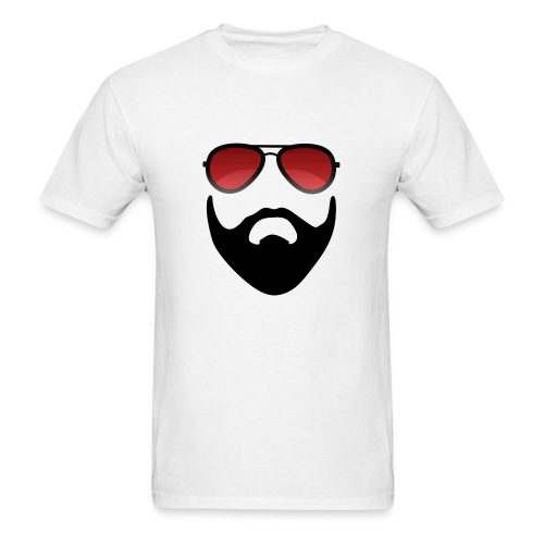 Beard and shades - Men's T-Shirt