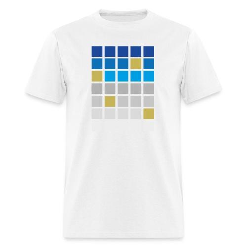 Futuristic Grid - Men's T-Shirt