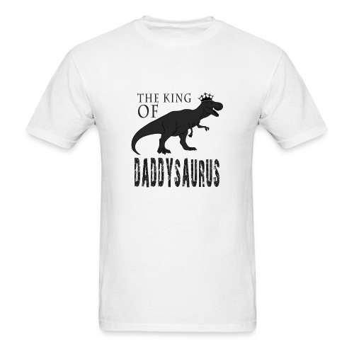 Fathers Day Daddysaurus - Men's T-Shirt
