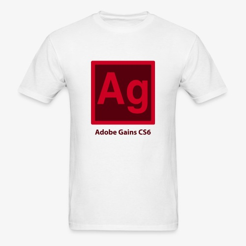 adobe gains - Men's T-Shirt