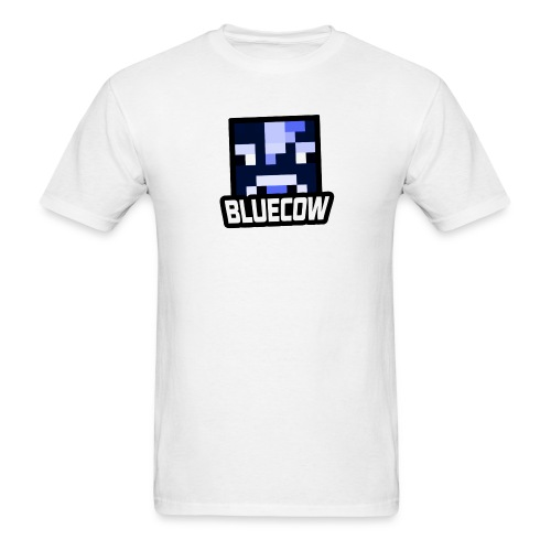 BLUECOW Stock Logo! - Men's T-Shirt