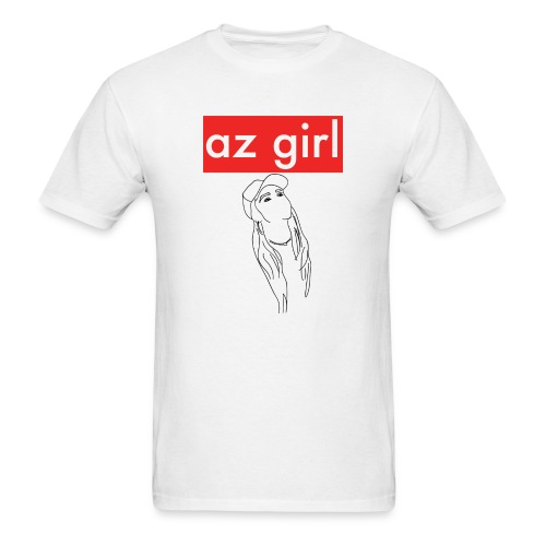 Az Girl - Men's T-Shirt