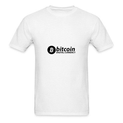 Bitcoin Digital Currency - Men's T-Shirt
