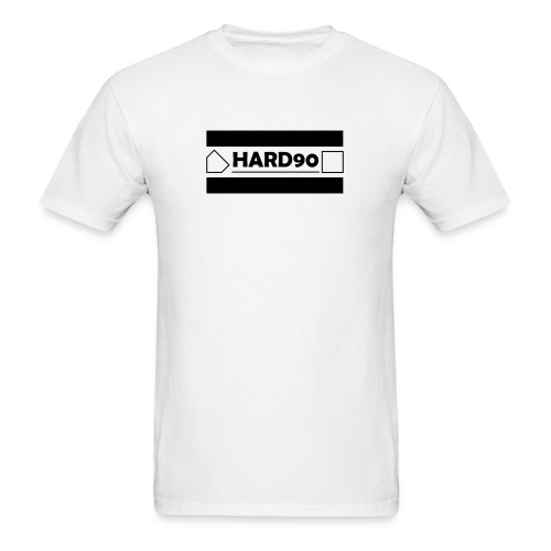 Hard 90 Logo - Men's T-Shirt