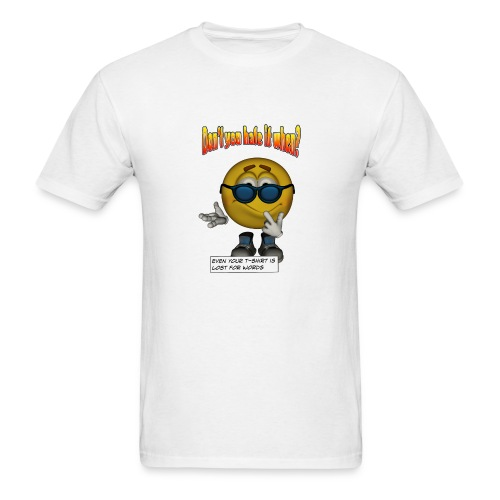 Lost For Words - Men's T-Shirt