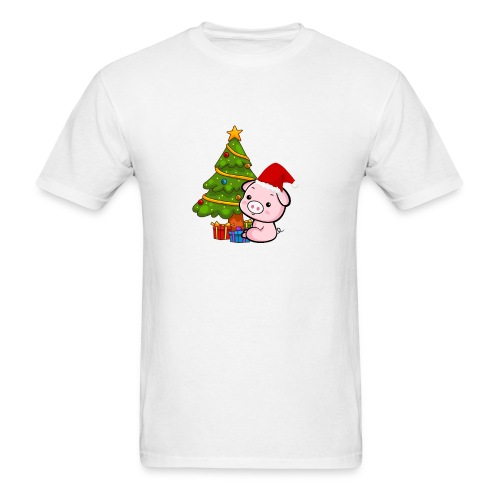 Xmas pig - Men's T-Shirt
