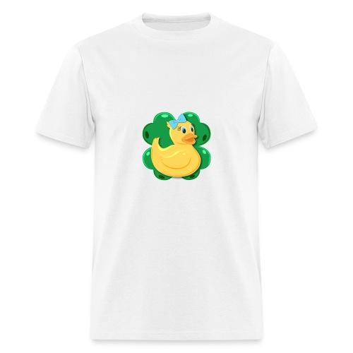LuckyDuckyLogo - Men's T-Shirt
