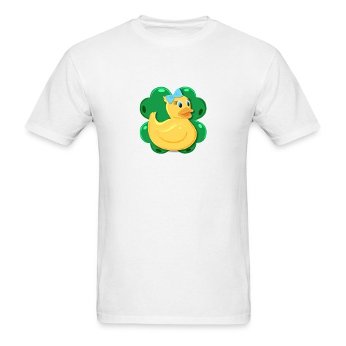 LuckyDuckyLogo - Men's T-Shirt