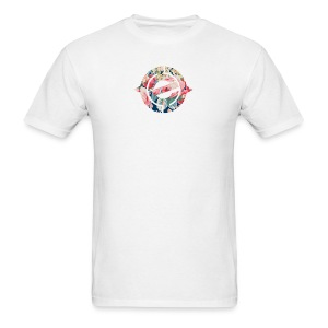 Logo Floral - Men's T-Shirt