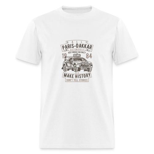 Rally Paris Dakar Automobile - Men's T-Shirt