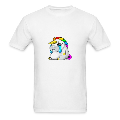 Alasdair unicorn crying - Men's T-Shirt