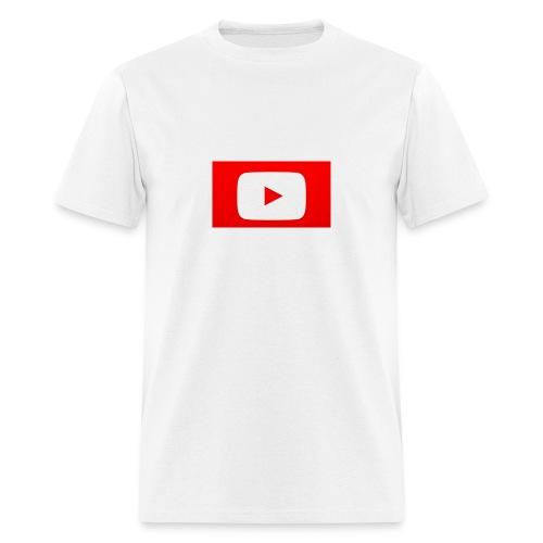 youtube logo - Men's T-Shirt