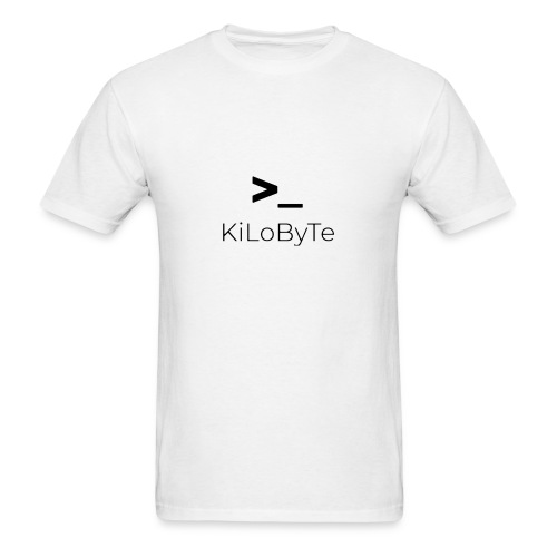 KiLoByTe Logo - Men's T-Shirt